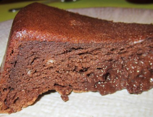 Le gâteau-mousse au chocolat
