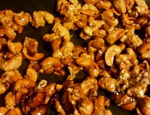 La mise au point du praliné noix de cajou