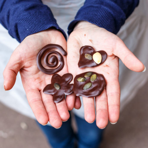 Etape 3 : il n'y a plus qu'à déguster vos mendiants en chocolat