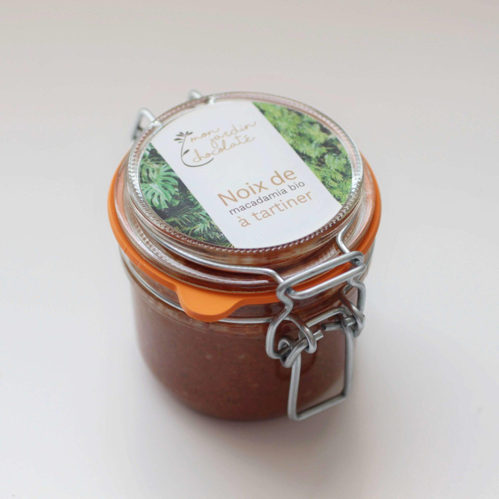 Pâte à tartiner à la noix de macadamia