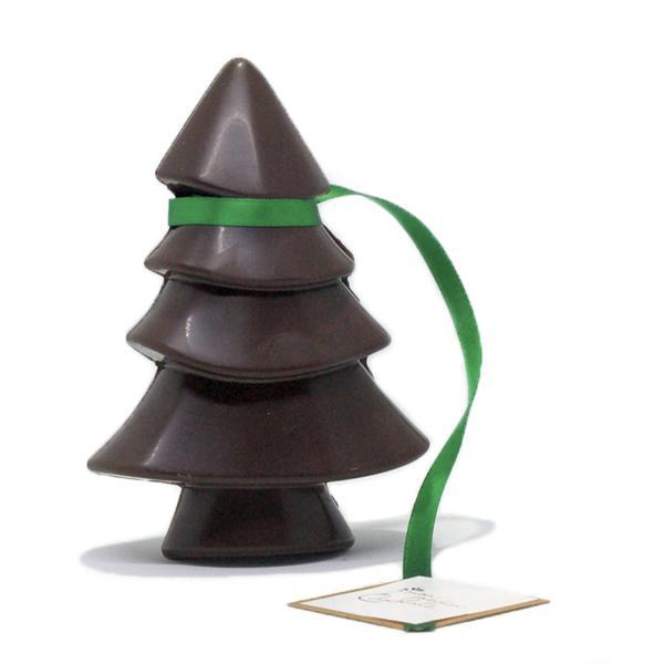 sapin chocolat noir