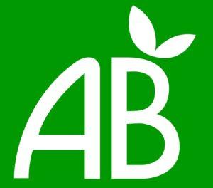 agriculture biologique, logo, AB, vert