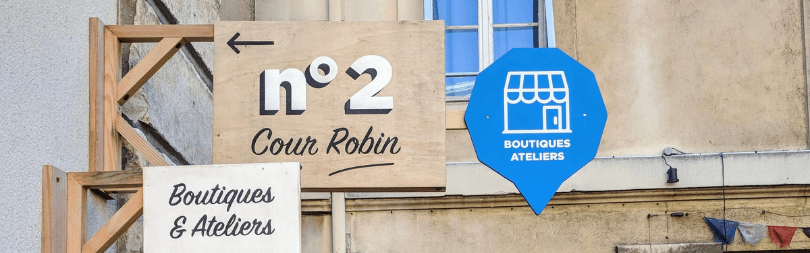 Cour Robin, porte n°2