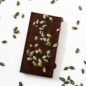 Tablette aux graines de courge