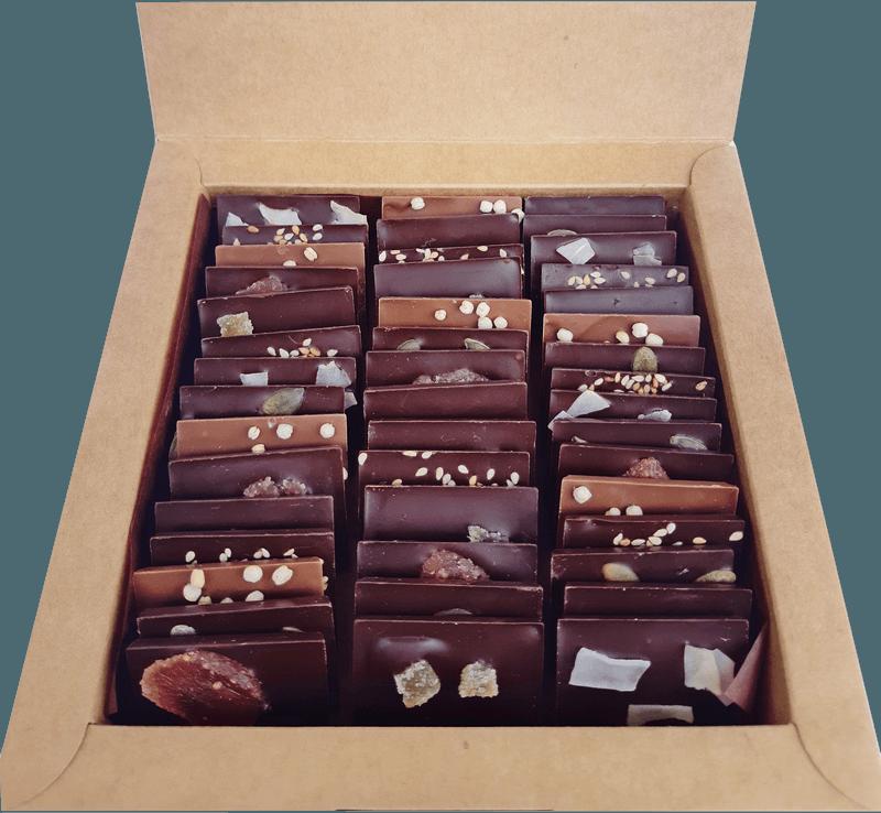 boîte 50 mini tablettes