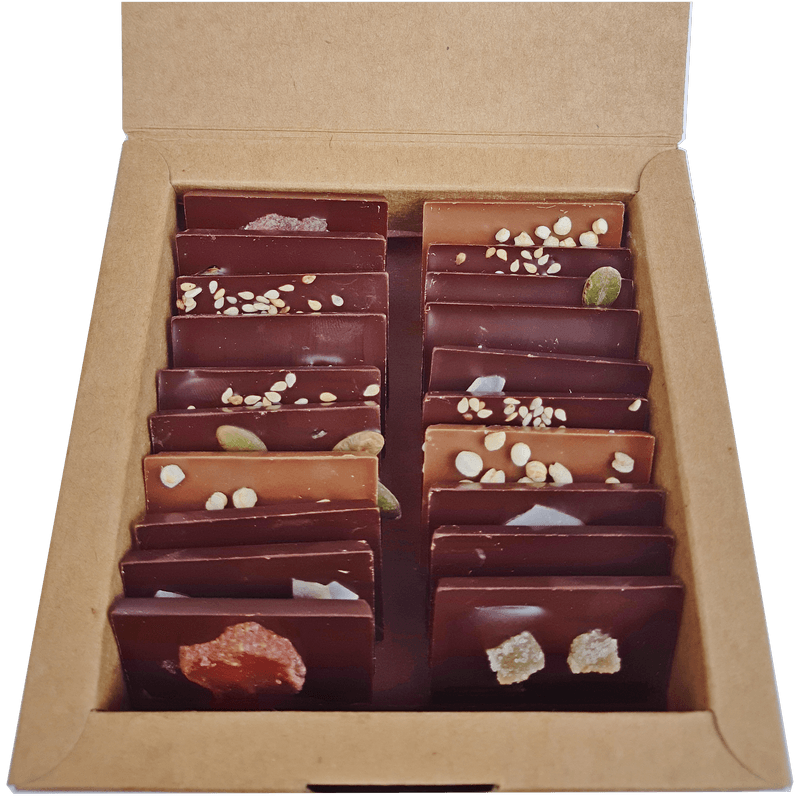 boîte 20 mini tablettes