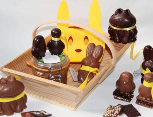 Livraison de chocolats de Pâques