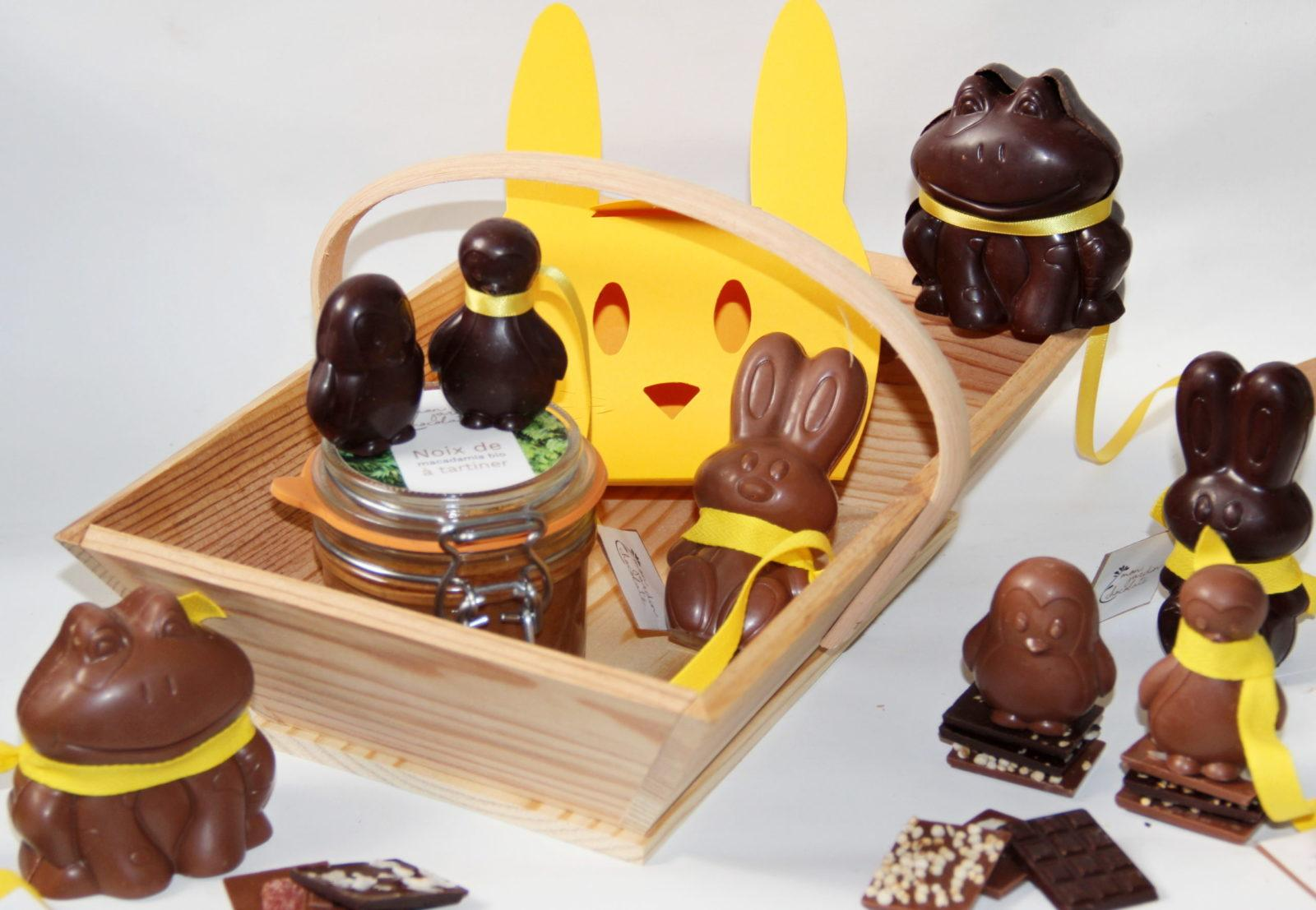 livraisons de chocolats de Pâques - jardin chocolaté paris