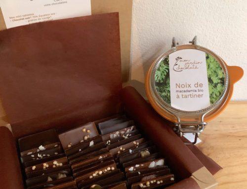 Concours de Noël Mon jardin chocolaté