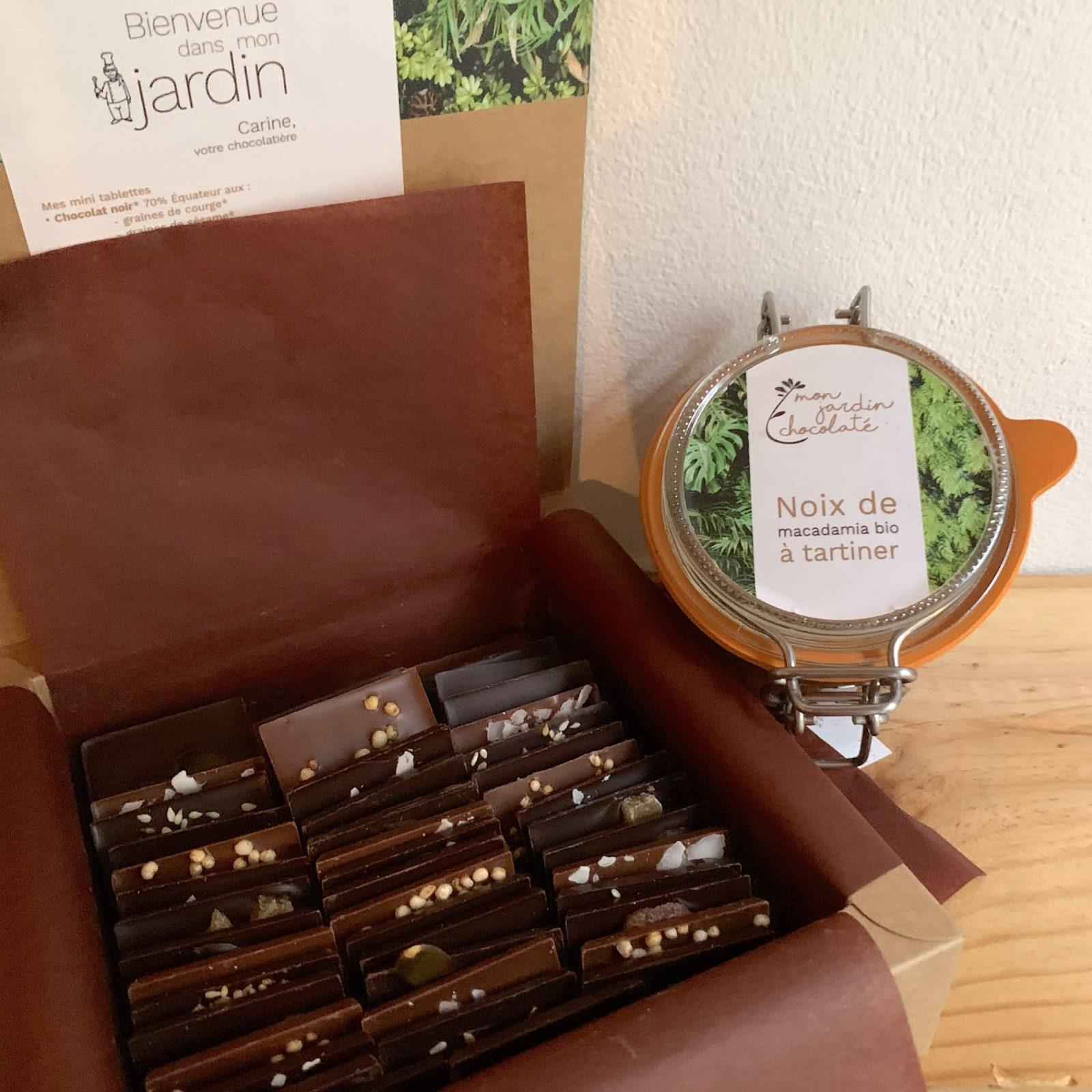 lot concours mon jardin chocolaté