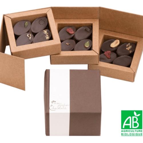 boîte de 12 chocolats